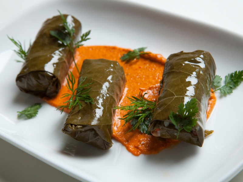 Lamb Dolmas Recipe