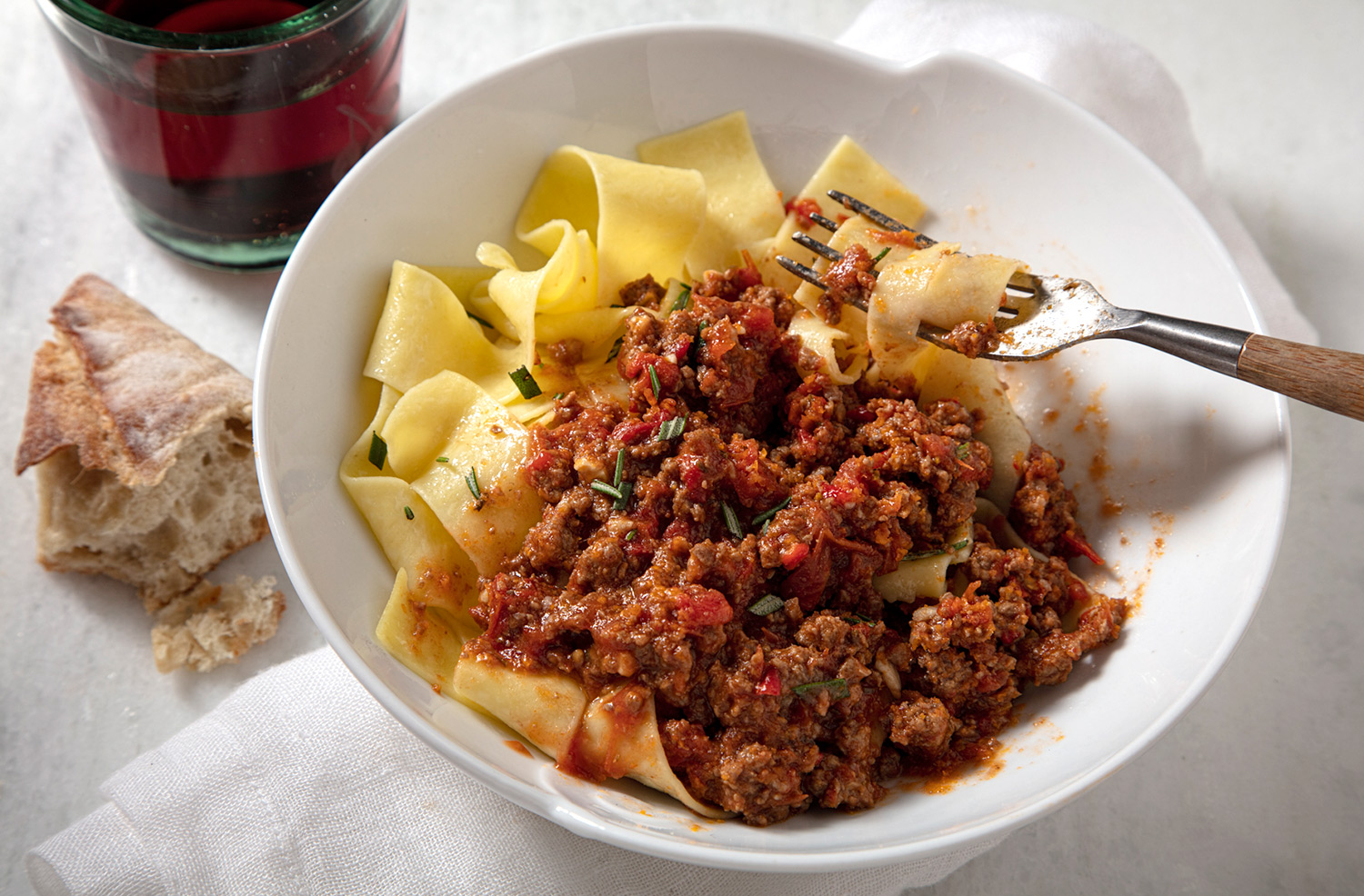 California Lamb Ragù Abruzzese Recipe